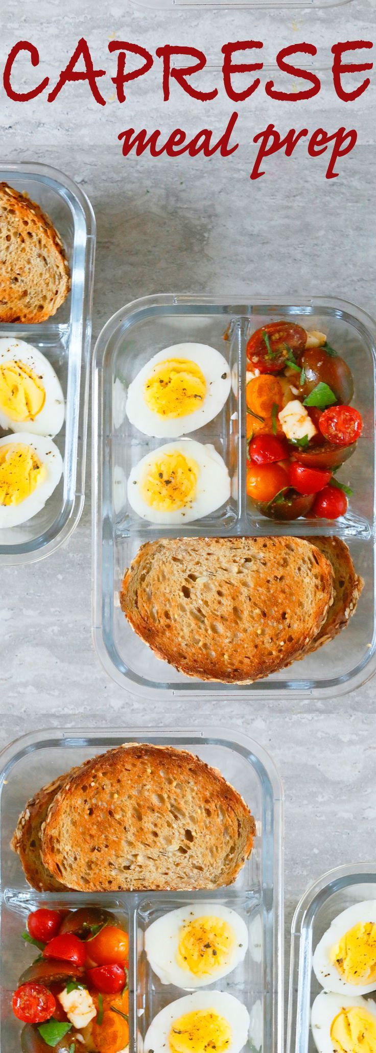 Caprese with Garlic Toast Lunch Box images