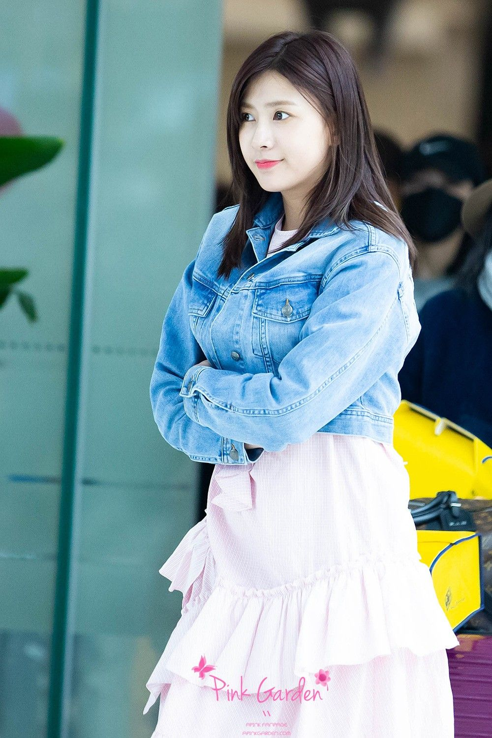 Oh Ha-Young of South Korean girl group A Pink is seen at