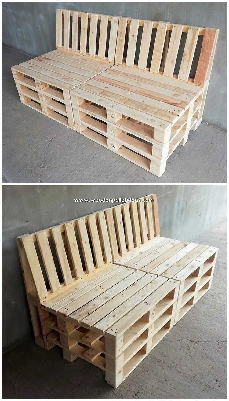 Attractive Diy Recycled Shipping Pallet Wood Projects In 2020