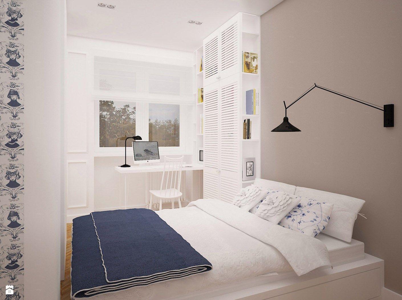 Zdjęcie Mieszkanie W Stylu Retro Sypialnia Styl