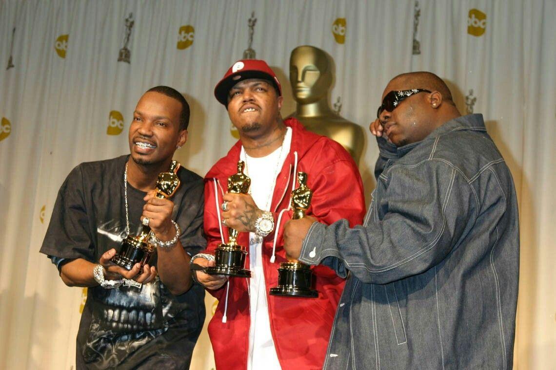 Three 6 Mafia Juicy J Dj Paul And Koopsta Knicca On Oscar Ceremony Three 6 Mafia Good Music Juicy J