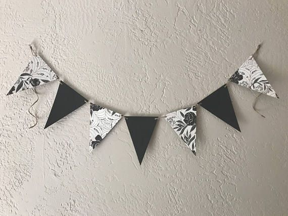 Halloween banner Halloween Bunting Office Decor Party KN Banners - halloween decorations for the office