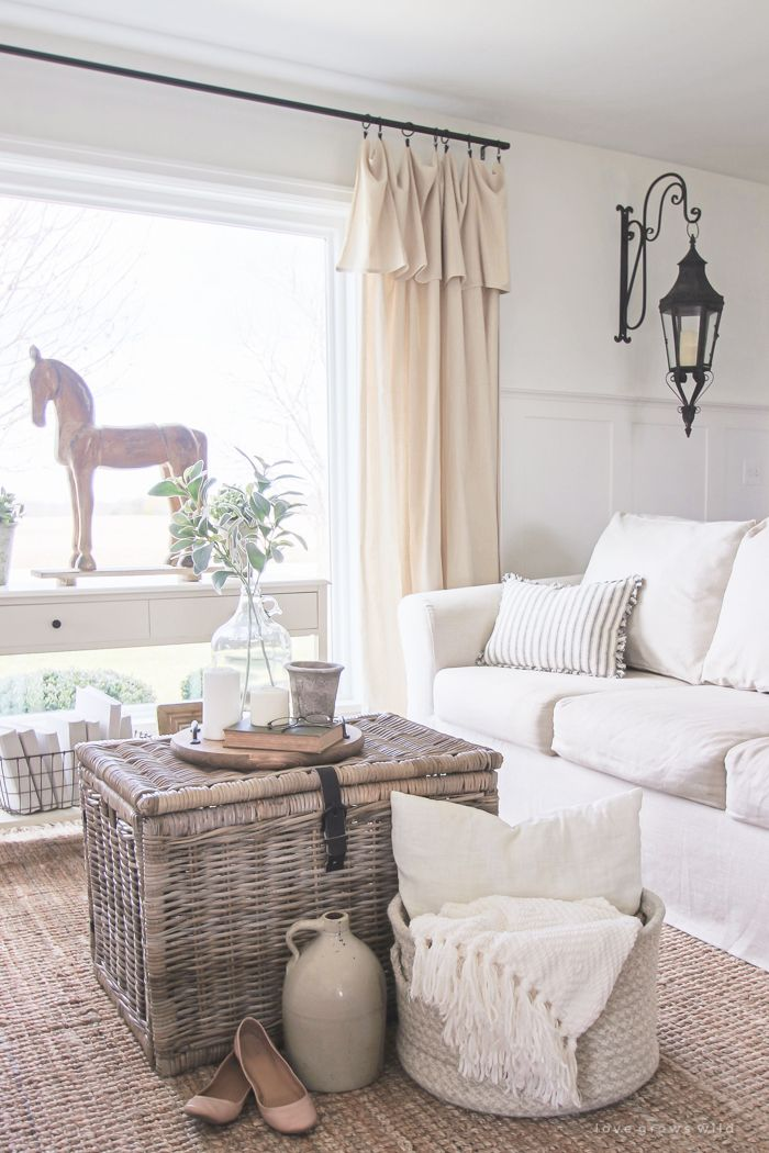 Living Room Slipcovers Black And White Furniture A Comfort Works Review 101 My Home Sweet Cozy Farmhouse With Beautiful Linen Slipcovered Sofas See How To Get This Custom Look At Lovegrowswild Com
