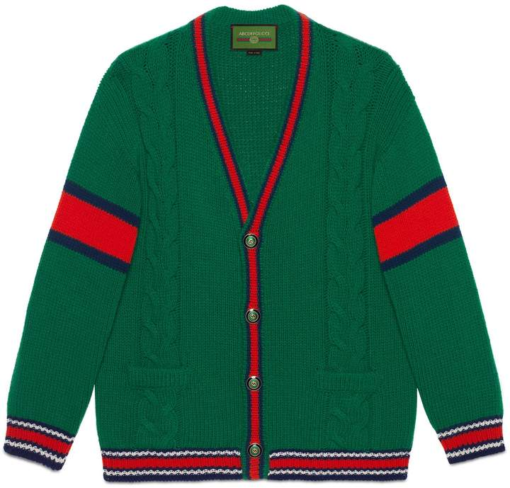Photo of Gucci DIY unisex wool cardigan
