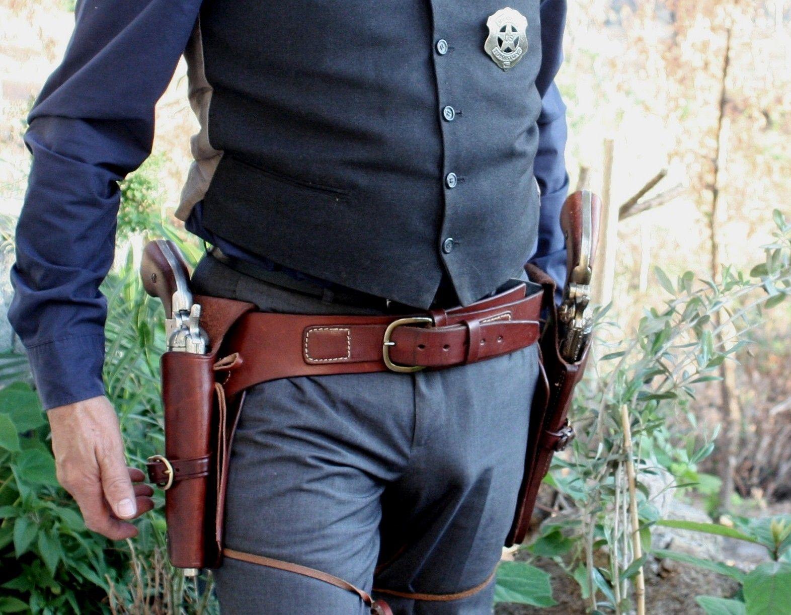 Cowboy rig 3 | guns | Western holsters, Custom holsters