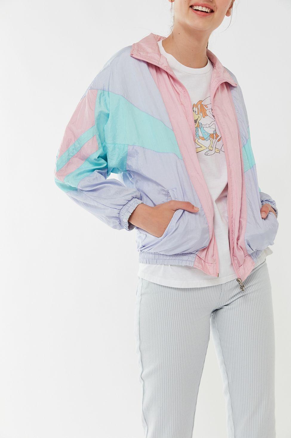 Vintage Assorted Colorblock Windbreaker Jacket Windbreaker Outfit Windbreaker Jacket Color Block Jacket