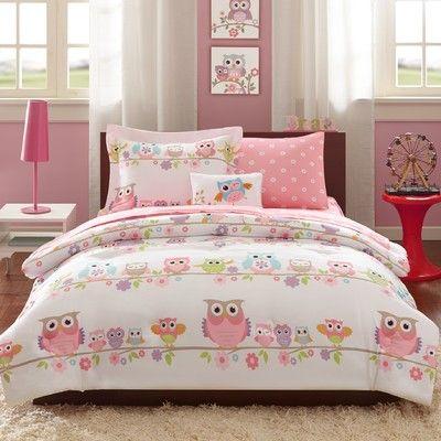 Douillet Lolo Avec Image Hibou Chouettes Chambres Bed