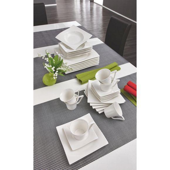porzellan tafelservice 12 teilig servierten sp lmaschine und porzellan. Black Bedroom Furniture Sets. Home Design Ideas