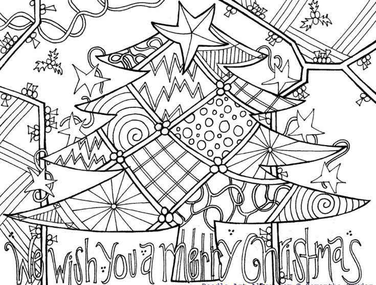 27 Places To Print Free Christmas Coloring Pages Christmas