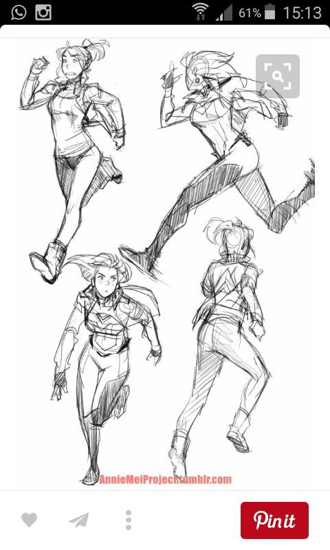 Running Art Reference Poses Sketch Poses Drawing Reference Poses