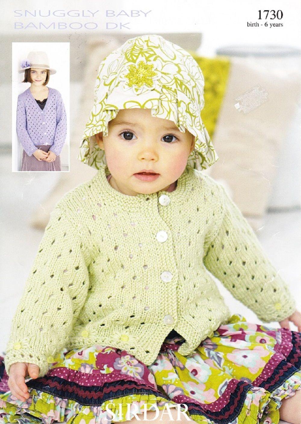 Sirdar knitting pattern 1730 dk babys childrens cardigans sirdar knitting pattern 1730 dk babys childrens cardigans bankloansurffo Image collections