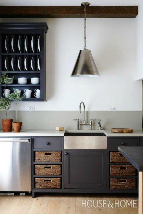 Rustic kitchens   Cheap kitchen cabinets, Kitchen cabinets ...