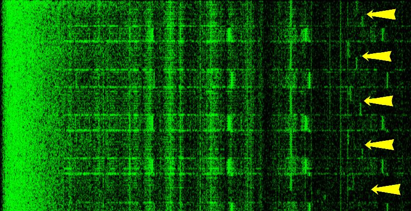 Extracting RSA key by acoustic cryptanalysis -- analyzing sound made by a computer while decrypting