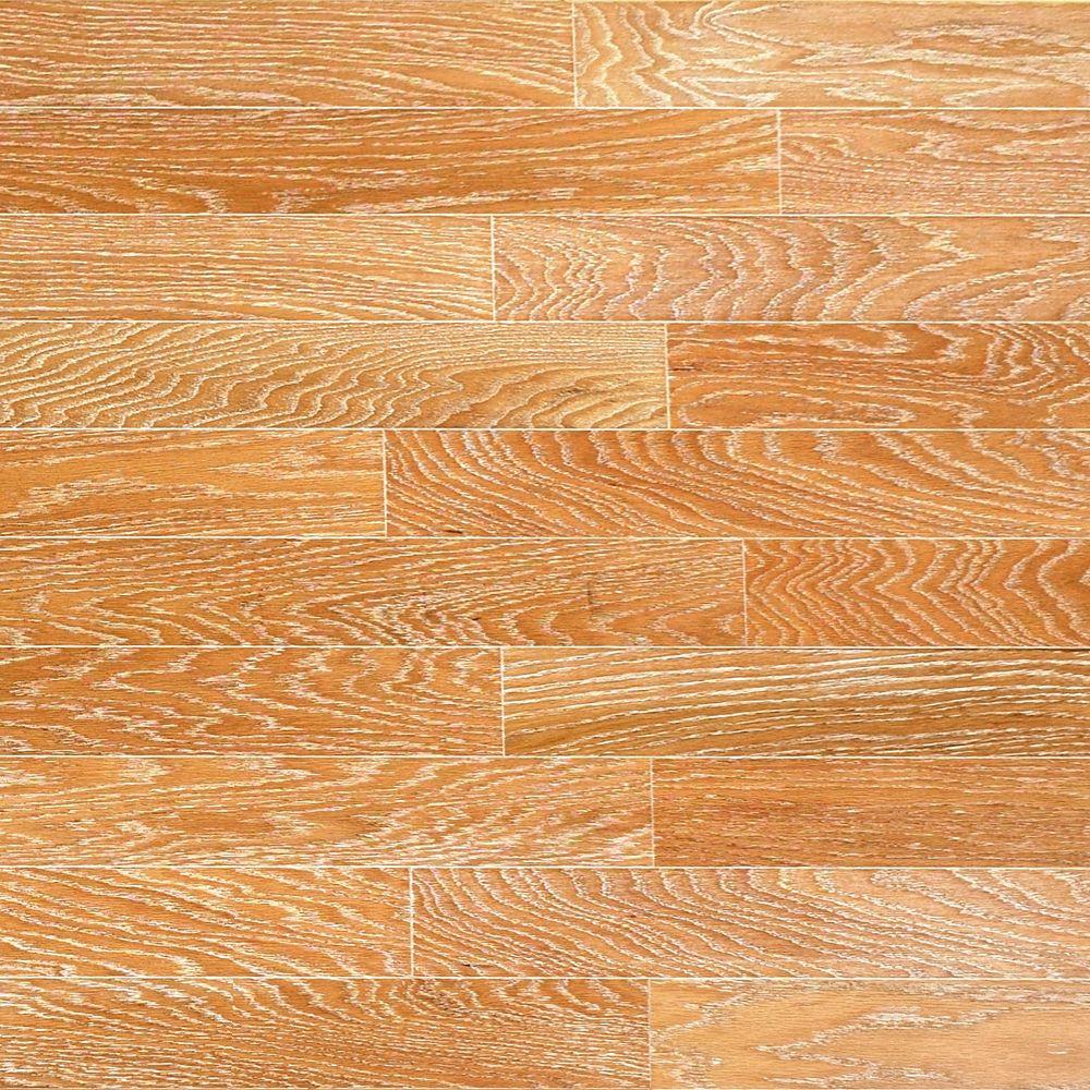 Oak Canvas Flooring, Engineered hardwood flooring, Real