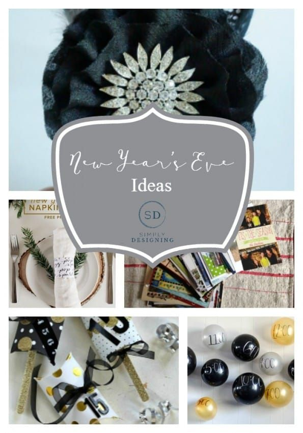 New Year's Eve Ideas | New years eve, New years eve party ...