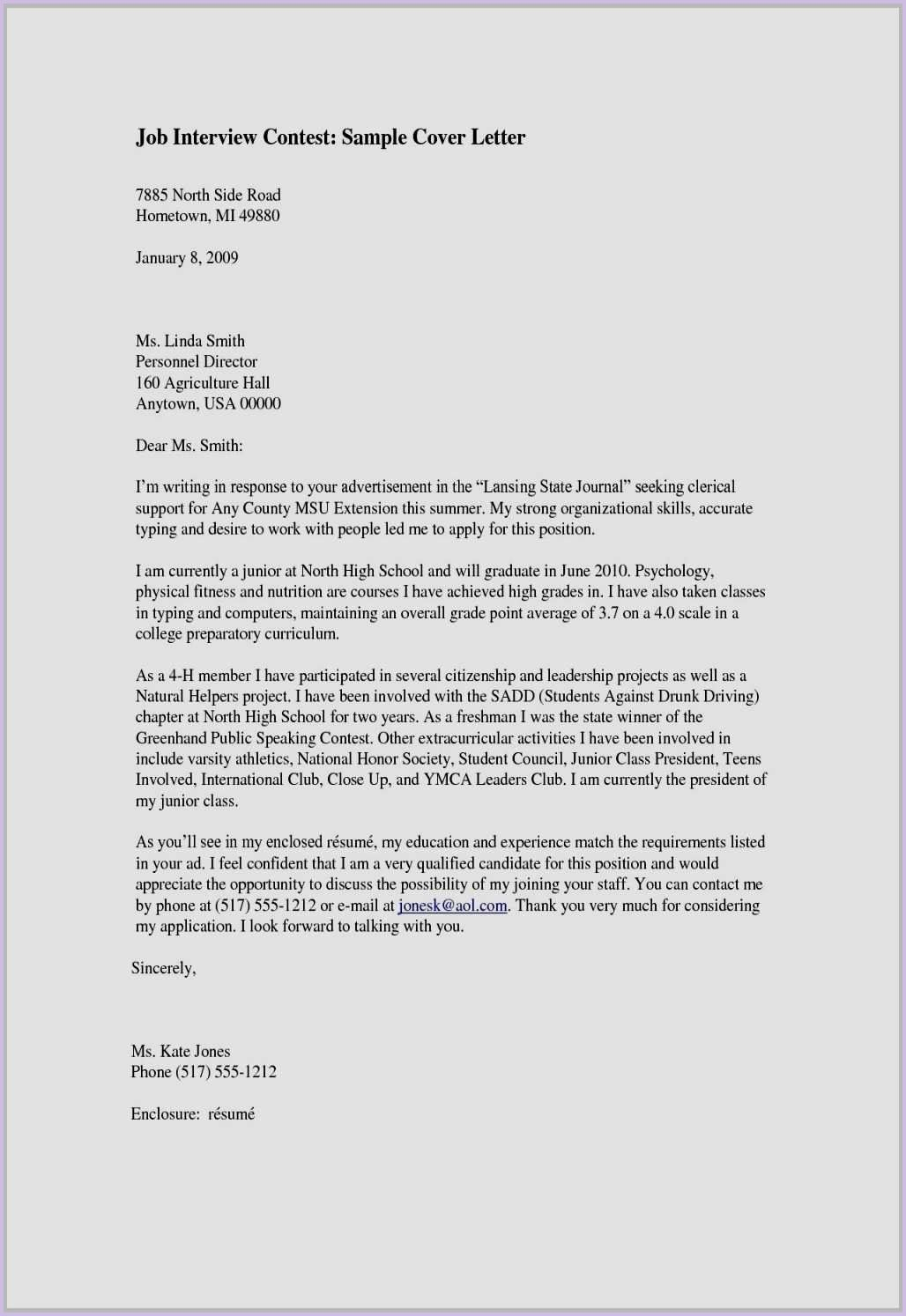 Cover Letter Template No Name With Images Resume Cover Letter