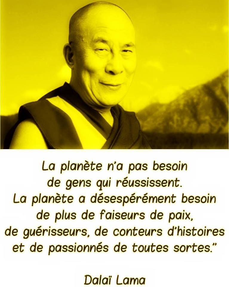 Dalaï Lama 52 Citations Dalaï Lama Respect Citation