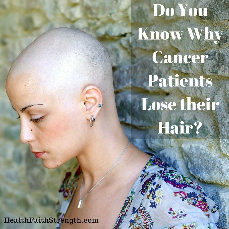 Do You Know Why Cancer Patients Lose Their Hair?