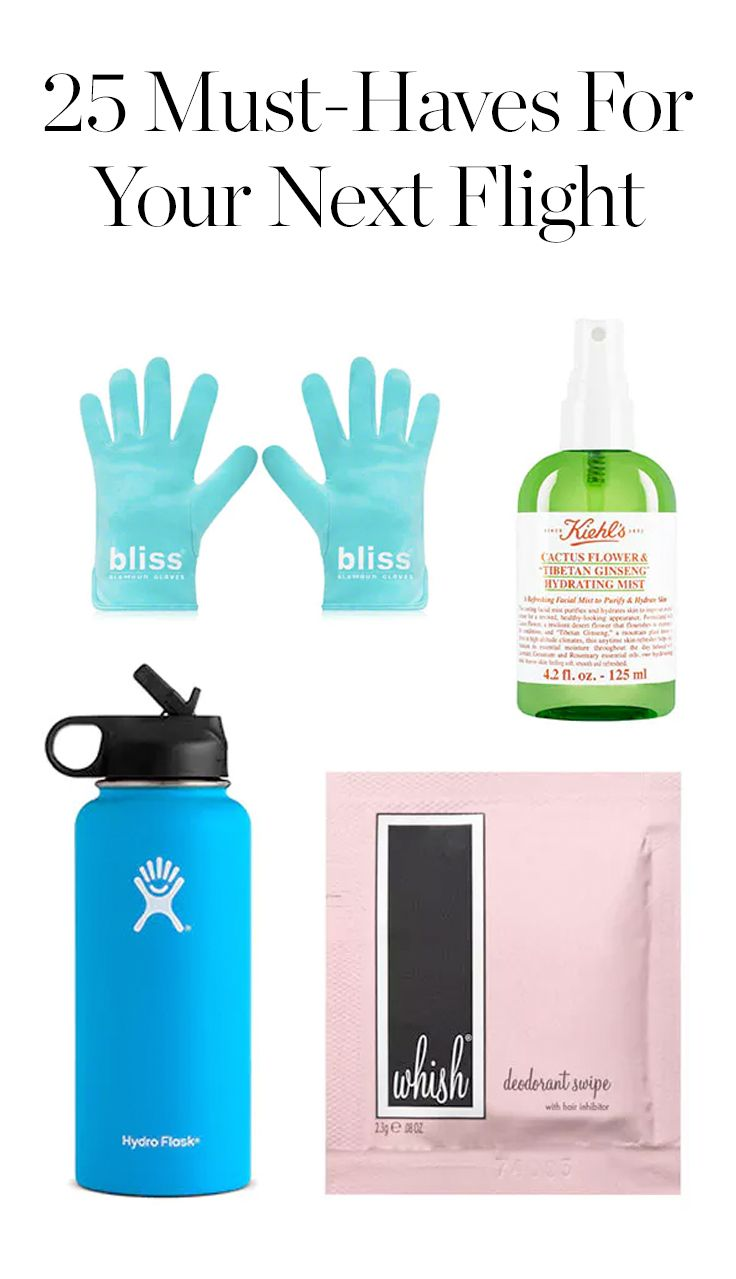 25 Must-Haves to Bring on Your Next Flight via @PureWow via @PureWow