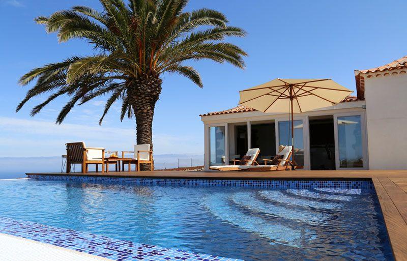 Stylisches Ferienhaus in Puntagorda direkt an der