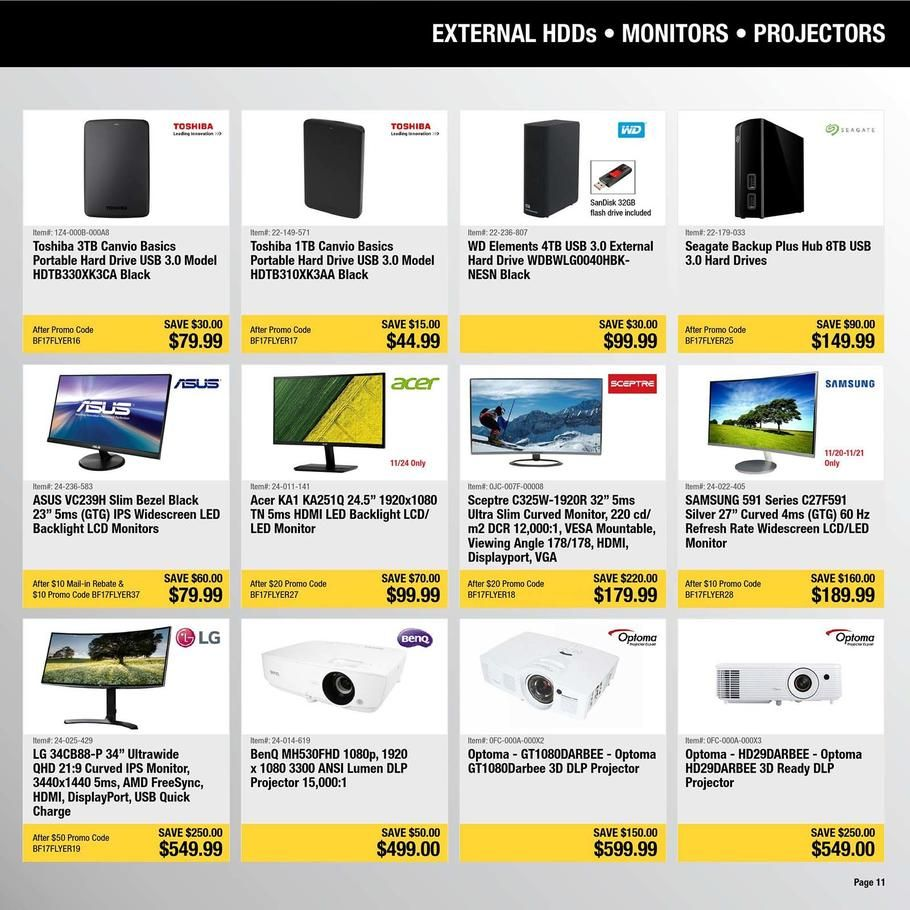Newegg Black Friday 2018 Ads and Deals