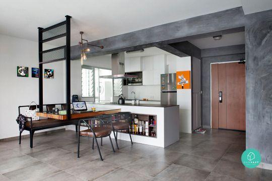 12 Must-See Ideas On 4-Room / 5-Room HDB Renovation ... on Small:xmqi70Klvwi= Kitchen Renovation Ideas  id=53597