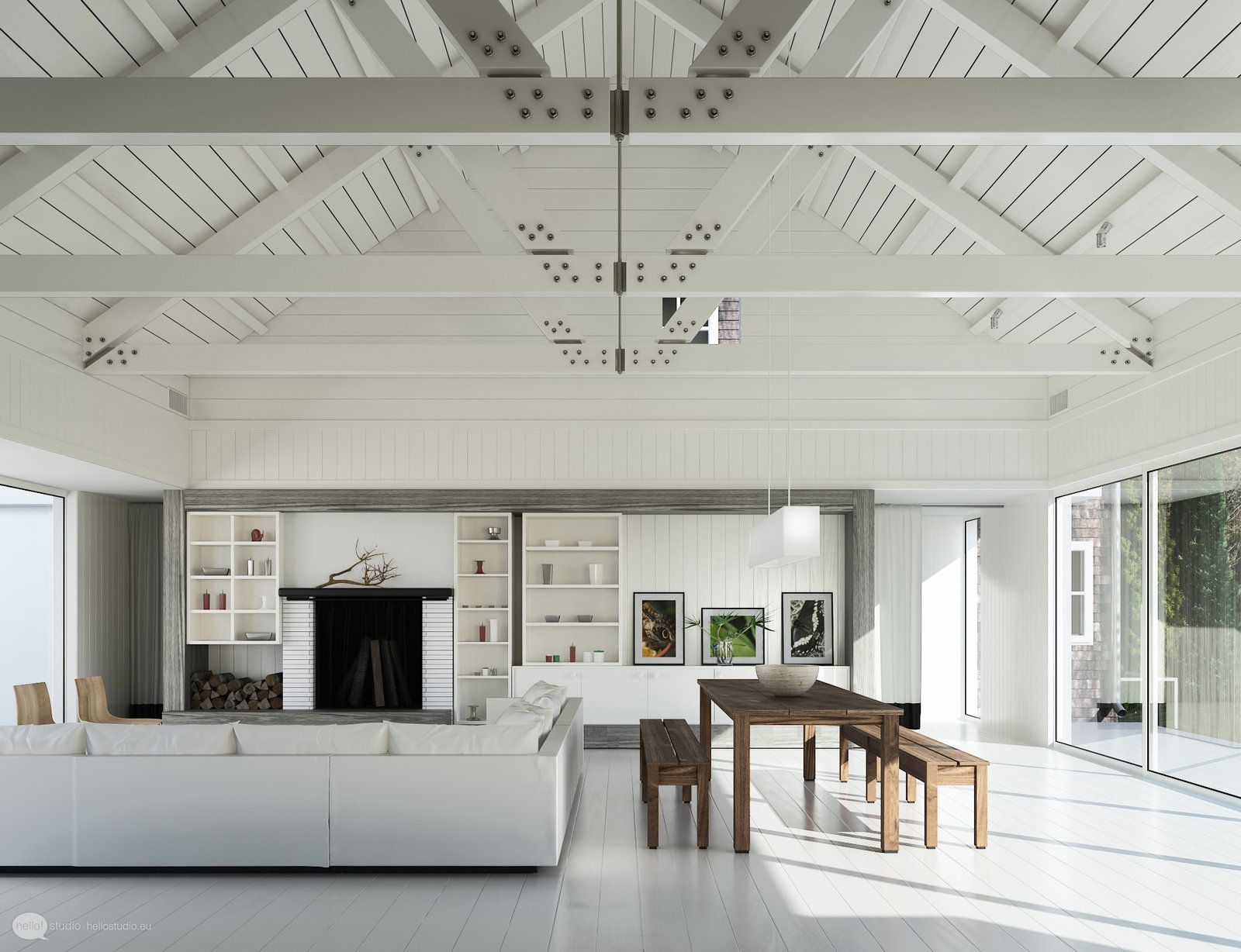Minimalism: 34 Great Living Room Designs | Ceiling, Living rooms and ...