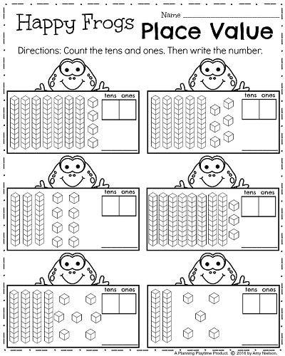 first grade worksheets for spring printables maths first grade worksheets first grade maths. Black Bedroom Furniture Sets. Home Design Ideas