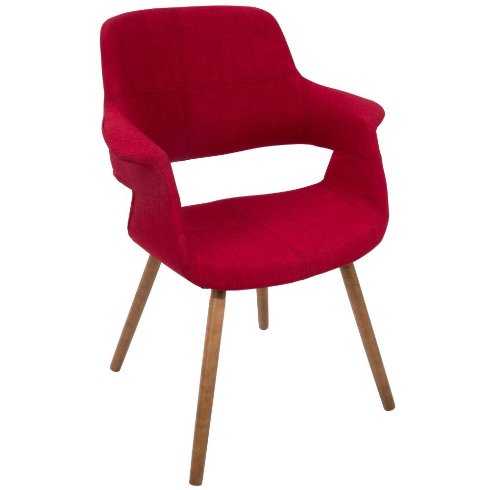 Jonna Contemporary Accent Chair Red Shop Home Kaboodle With