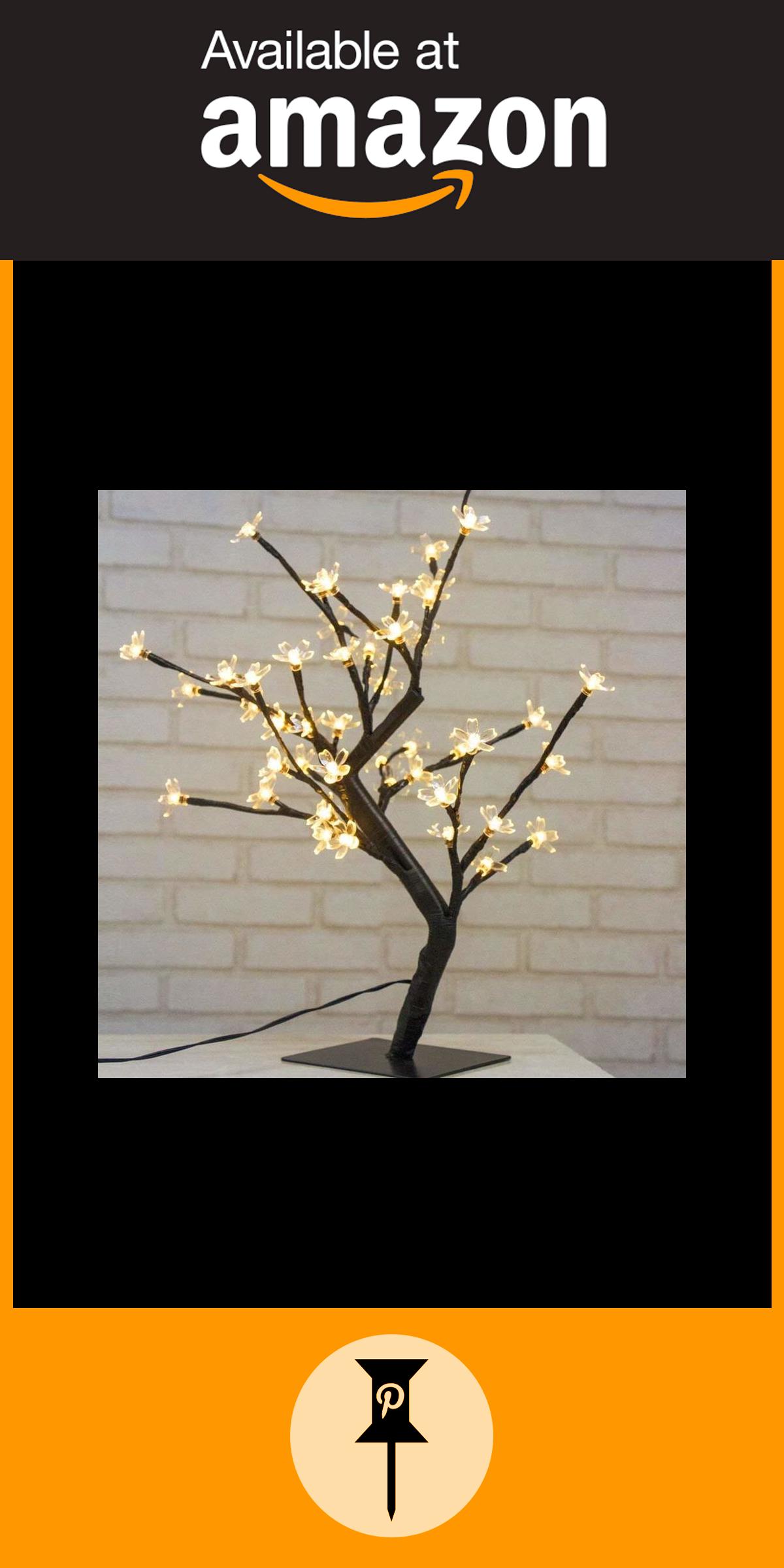 D'arbre Arbre Lumineux Led De Lumières Des Lampe Fleurs 48 Cerisier tsdCroQBhx