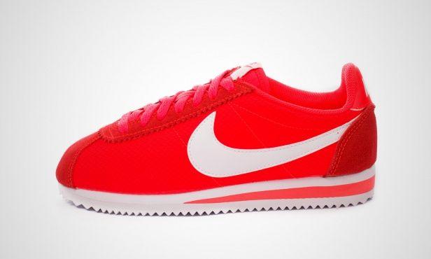 huge selection of 77cb0 66f15 Nike WMNS Classic Cortez Nylon (neon rot) - 749864-616   43einhalb sneaker  store