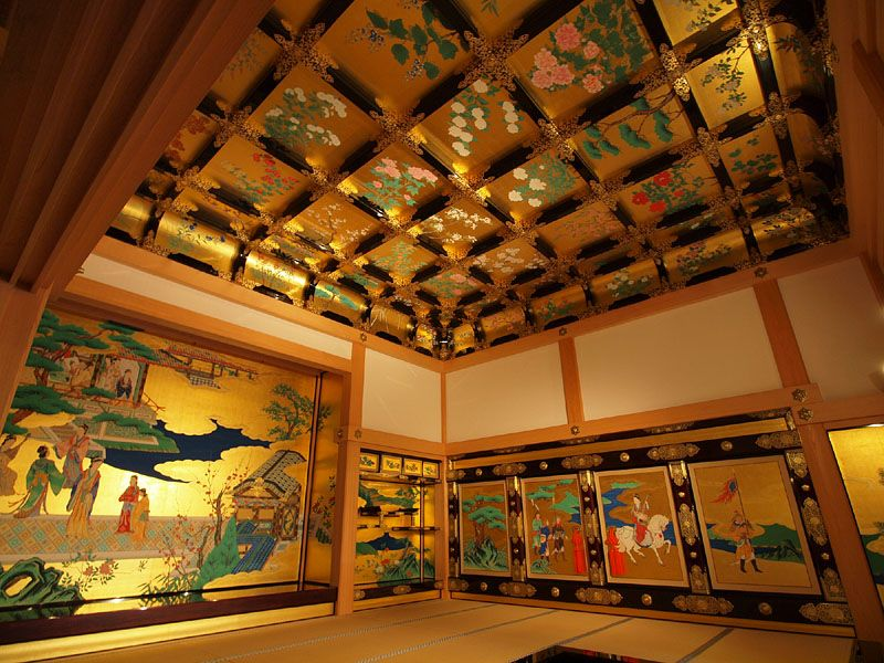 絢爛豪華な昭君之間 | 熊本城, 絢爛, 豪華