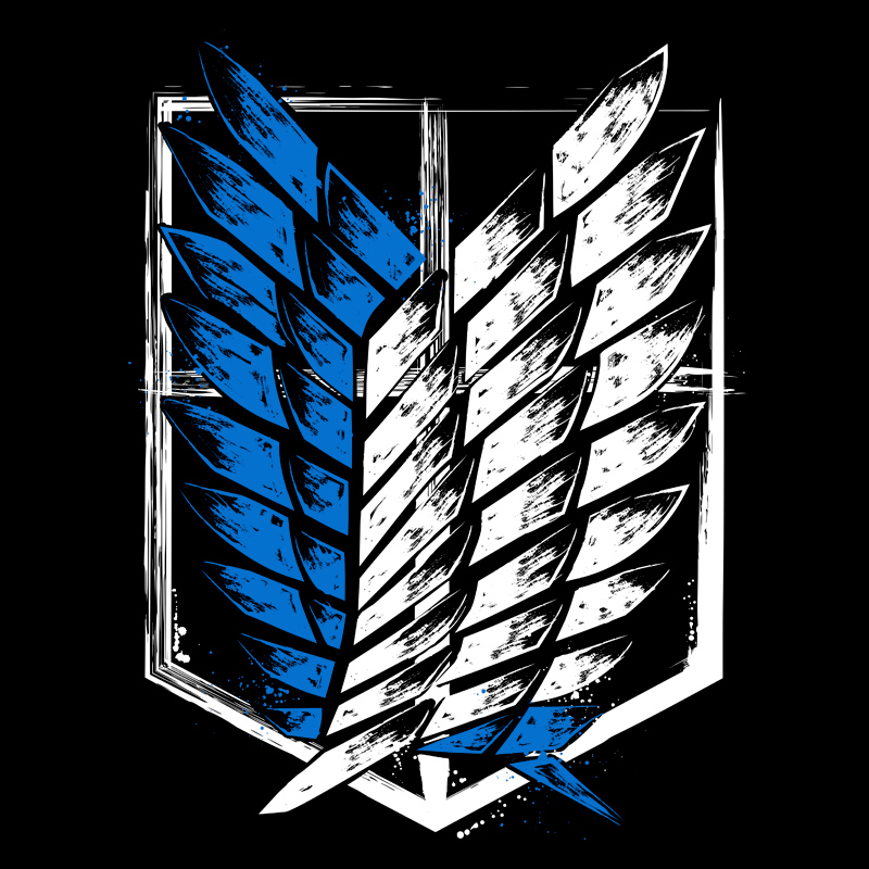 Wings Of Freedom T Shirt Attack On Titan Art Wings