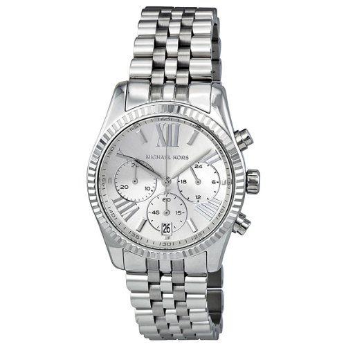 #deal Michael Kors Watches Lexington Watch (Silver)