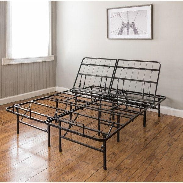 Best Postureloft Adjustable 14 Inch Heavy Duty Metal Bed Frame 400 x 300