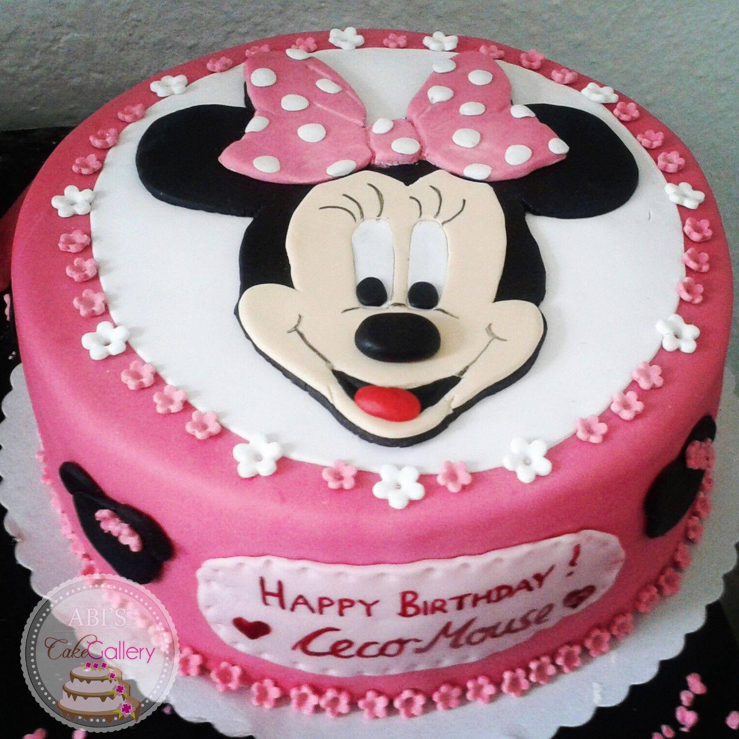 Minnie mouse kuchen deko appetitlich foto blog f r sie - Kuchendeko foto ...
