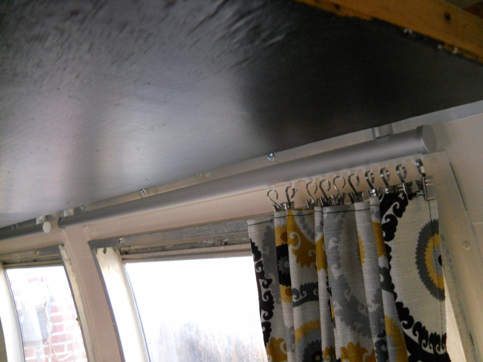 Ikea Curtain Tracks Work Great Airstream Forums Ikea Curtains