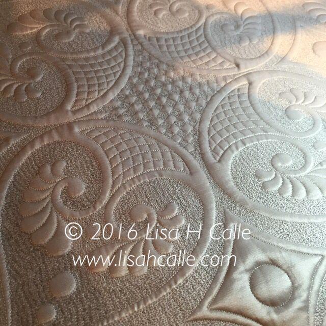A little Longarm fun. #BERNINA   Quilts by Designer: Lisa Calle ... : bernina long arm quilting - Adamdwight.com
