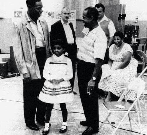 Nat King Cole, Natalie Cole, Louie Armstrong, and Ella ...
