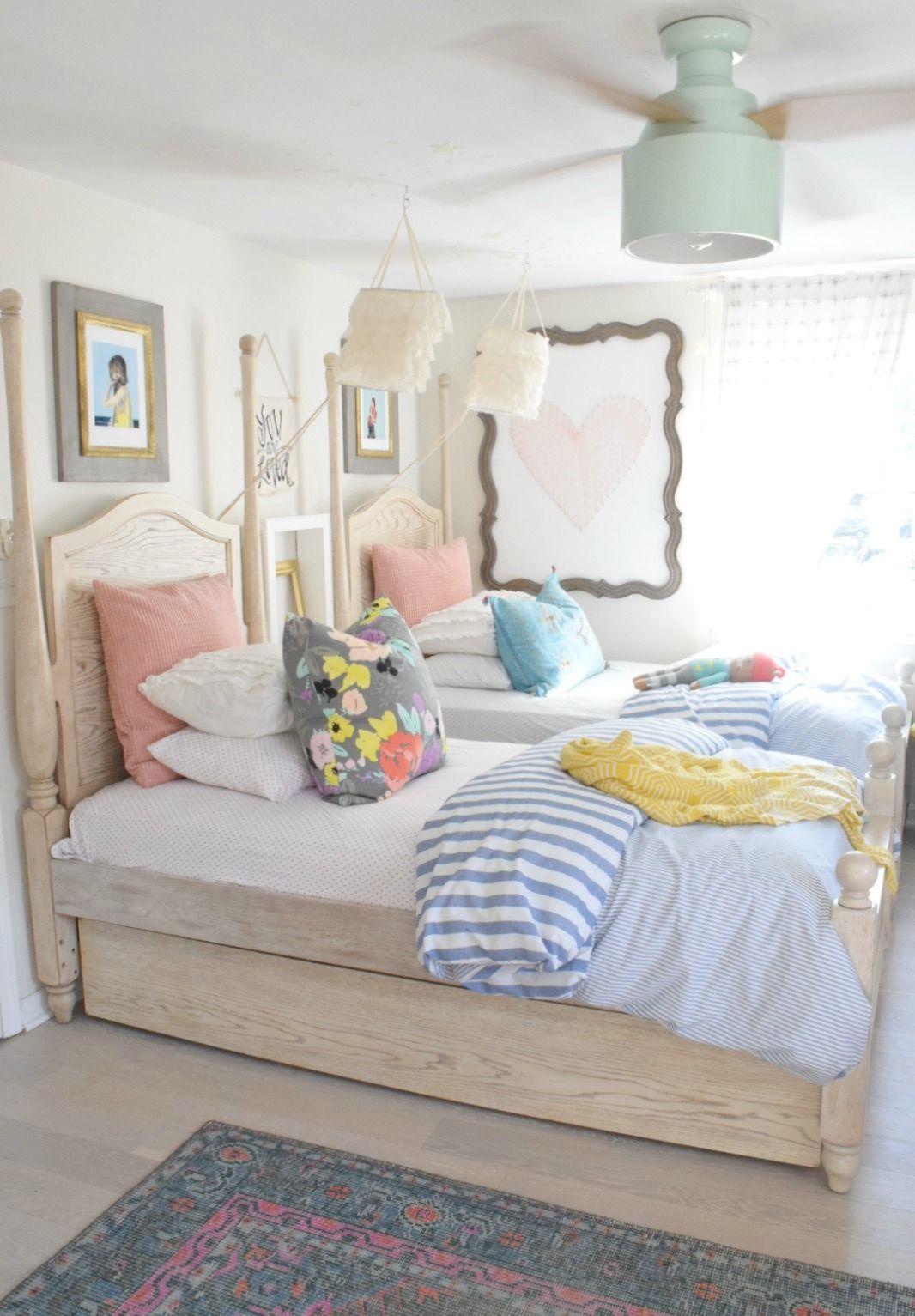 Summer Home Decor Ideas Our Summer Tour 2017 Nesting With Grace Home Decor Bedroom Kid Room Decor Summer Home Decor