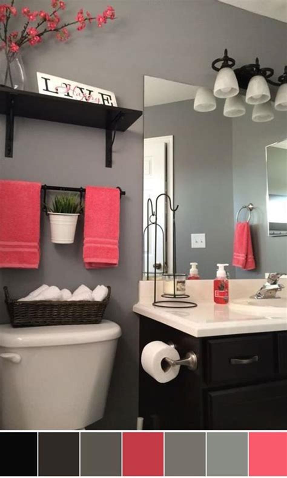 Photo of 40 Best Color Schemes Bathroom Decorating Ideas on a Budget 2019 31 – ViraLinspi…