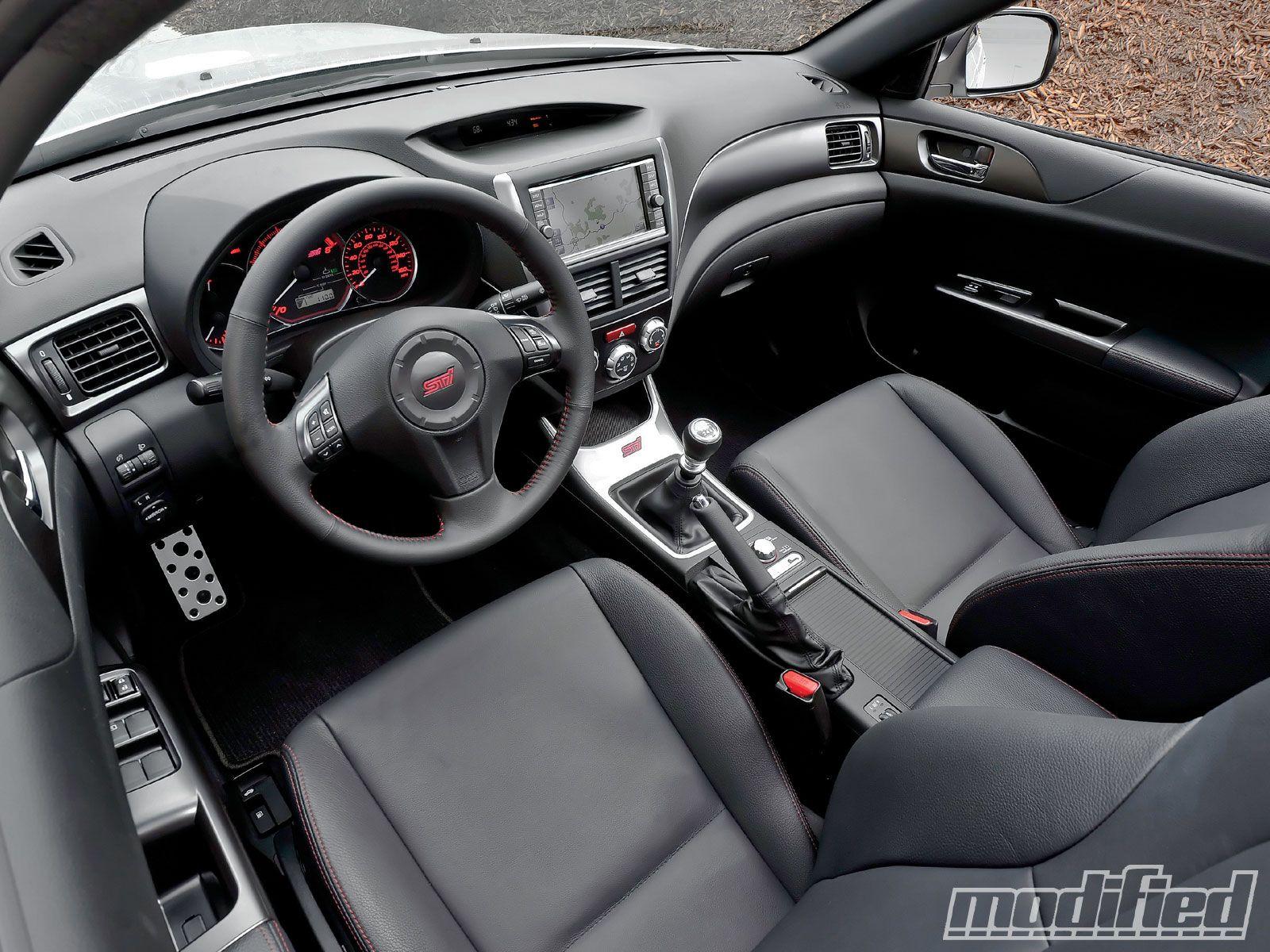2011 Subaru Impreza Wrx Sti Interior Photo 3 2011 Subaru