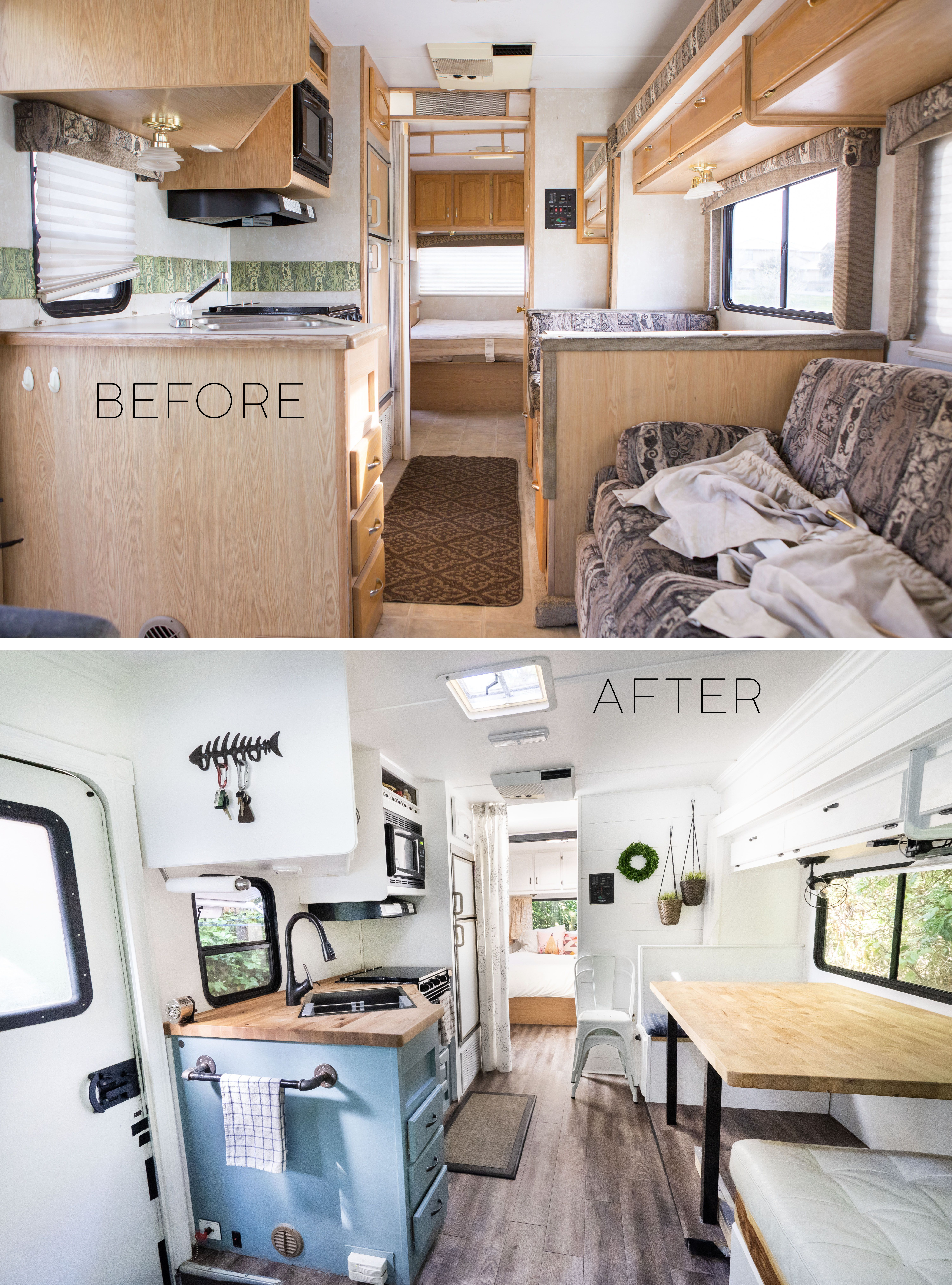From House To Motorhome Before And After Photos Beforeafter