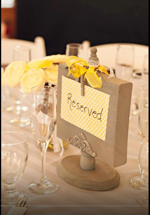 Gold Reserved Table Signs Wood - Reserved Table Signs  |Reserved Table Sign Holder