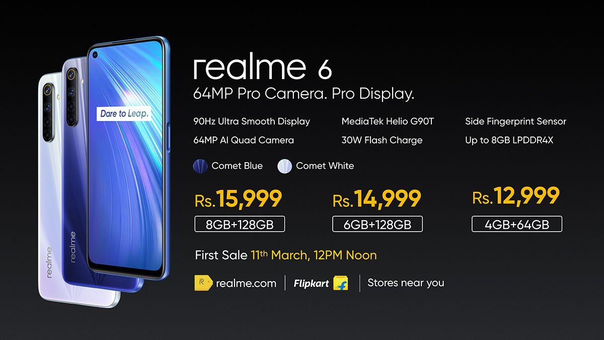 Realme Ne India Mein Launch Kar Diye Hai Realme 6 Aur 6 Pro Ko Ab