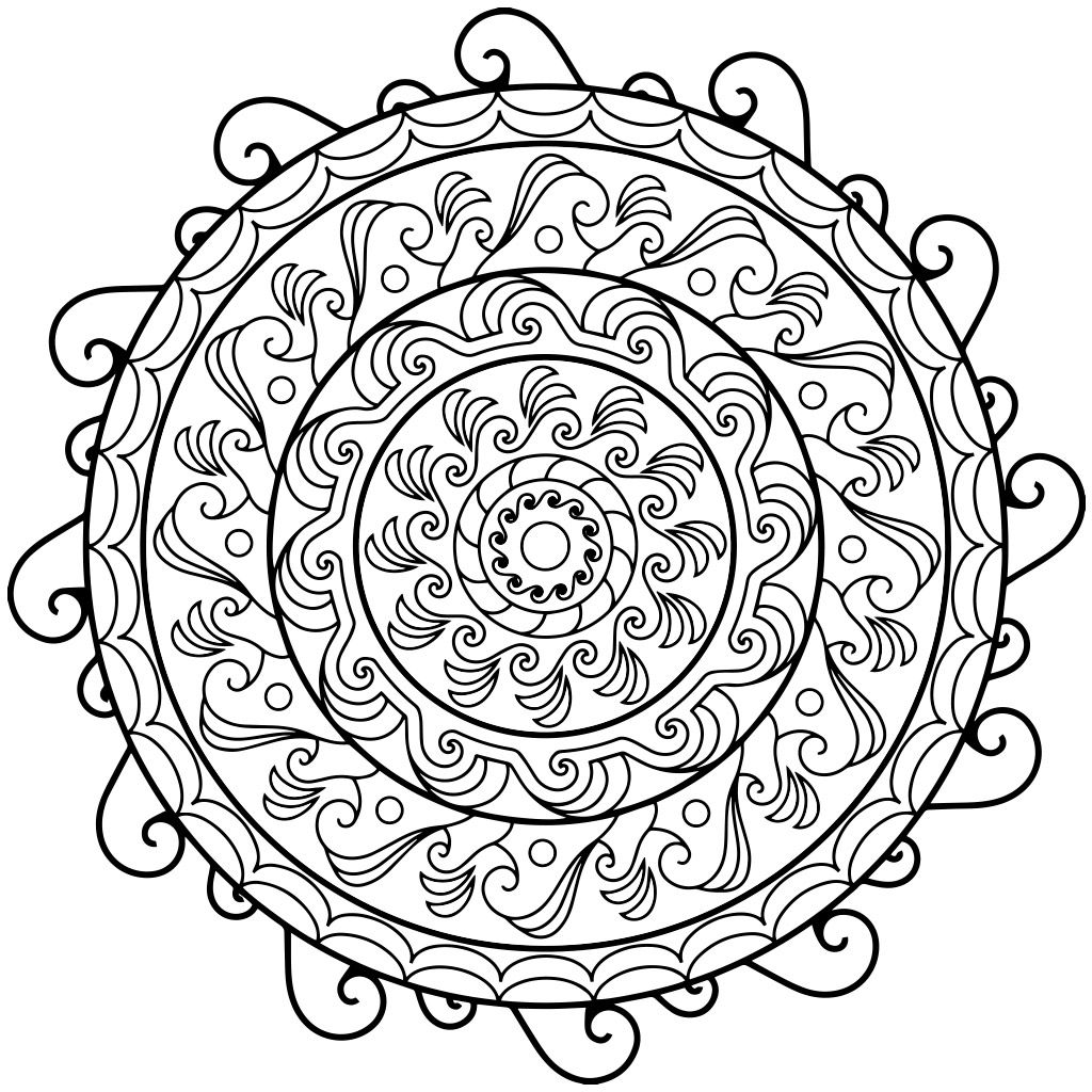 Indie rock coloring book pages - Coloring Pages Mandala