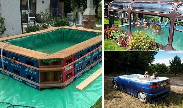 Cool do it yourself swimming pool ideas for the summer time http cool do it yourself swimming pool ideas for the summer time httphomesteadingfreedom20 cool diy pools solutioingenieria