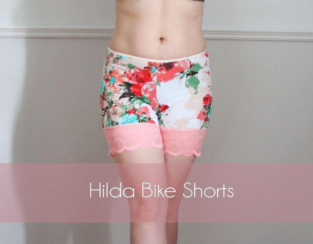 9935f92e279 Down with summer thigh chafe! Hilda Bike Shorts Sewing Pattern. Free for  the Month of July!