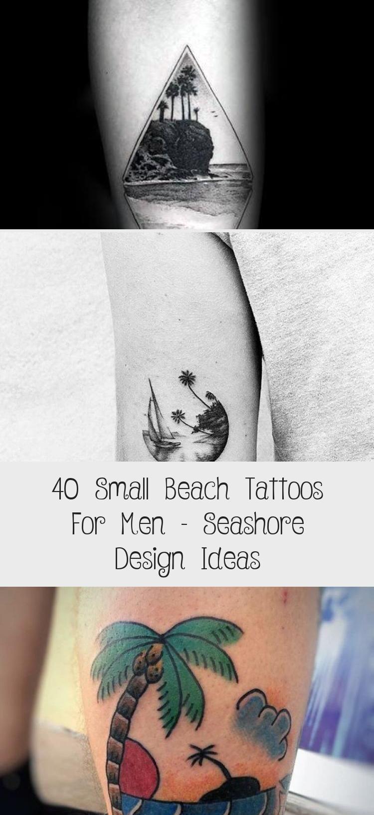 Photo of 40 Small Beach Tattoos For Men – Seashore Design Ideas – Tattoo İdeas