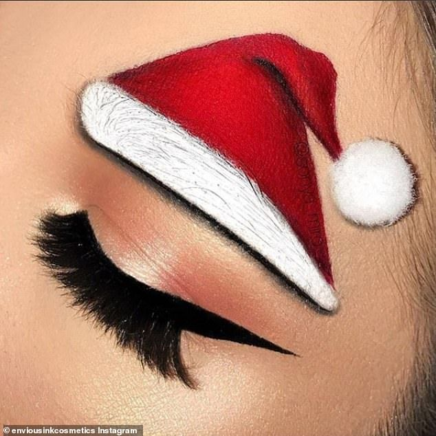 Christmas eyebrows are the must-have trend for the festive season